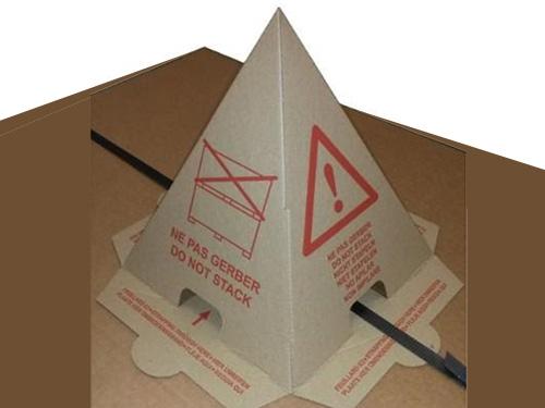 cone carton protection emballage